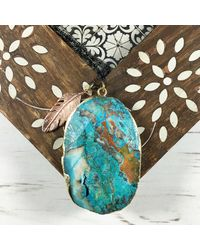 Brave Lotus - Multicolor Ocean Dreaming Necklace - Lyst