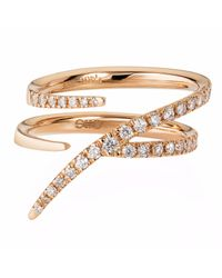 Sarah Ho - Sho | Metallic Numerati Ring Rose Gold Lucky Number 7 | Lyst