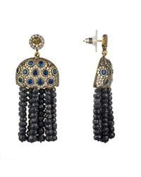 Latelita London - Multicolor Bubble Tassel Earring Sapphire - Lyst