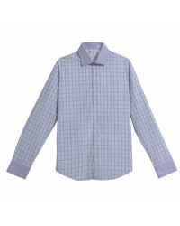 Arthur Shirtley - Blue Swiss Cottage Prune Shirt for Men - Lyst