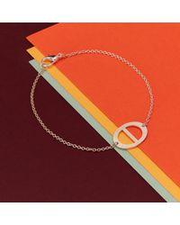 Retrospective Jewellery - Metallic Buckle Bracelet - Lyst