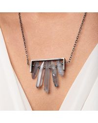 WtR - Metallic Seren Necklace - Lyst