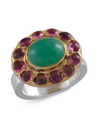 Emma Chapman Jewels - Green Bellina Chrysoprase Ring - Lyst