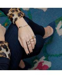 Sadekar Jewellery - Multicolor Mixed Triangle Bracelet - Lyst