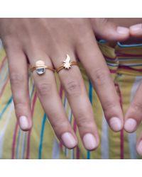 Bark - Metallic Gold Twilight Ring - Lyst
