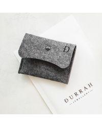 Durrah Jewelry - Black Graphite Dream Bracelet - Lyst