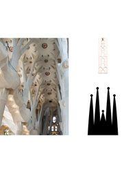 Mademoiselle Felee - Metallic Barcelona Gaudi Earrings - Lyst