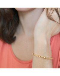Agnes De Verneuil | Metallic Gold Cuff Bracelet Jali | Lyst