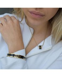 Whistle & Bango - Alphabet Necklace Black - Lyst