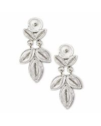 Kitik Jewelry - Metallic Nitti Silver Earrings - Lyst