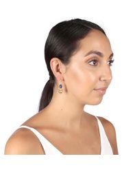 Carousel Jewels - Multicolor Lapis & Gold Sphere Earrings - Lyst