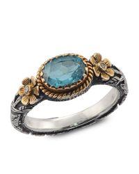Emma Chapman Jewels - Sky Blue Topaz Ring - Lyst