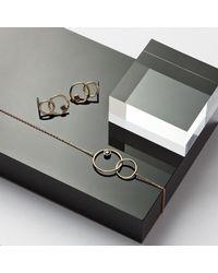 Monarc Jewellery - Metallic The Meridian Drop Earrings 9ct Gold + Black Spinel - Lyst