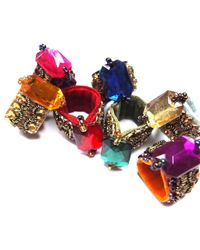 Velvet Eccentric - Multicolor Finger Candy Gold - Lyst