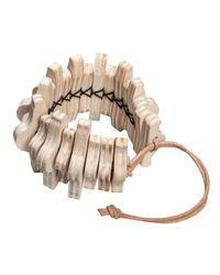 Hring Eftir Hring - Multicolor Spine Bracelet - Lyst