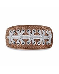 LMJ - Metallic Touchdown American Football Ring for Men - Lyst