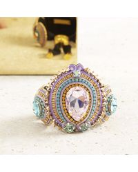 Izabela Felinski - Multicolor Ethereal Lilac Bracelet - Lyst