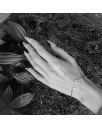 Latelita London - Metallic Key Bracelet Rosegold - Lyst