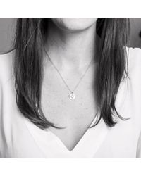 Auree Jewellery - Metallic Bali 9ct Gold August Birthstone Necklace Green Amethyst - Lyst