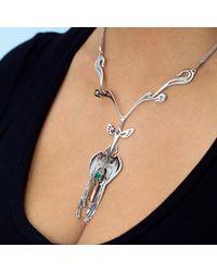 Nooneh London - Multicolor Divine Feminine Statement Necklace - Lyst