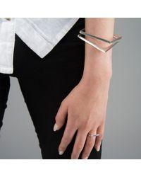 ANUKA Jewellery - Metallic Koti Infinity Bangle - Lyst