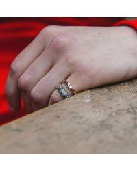 Serge Denimes - Metallic Aztec Ring for Men - Lyst