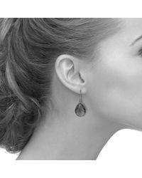 Latelita London - Multicolor Petite Drop Earring Rose Quartz Gold - Lyst