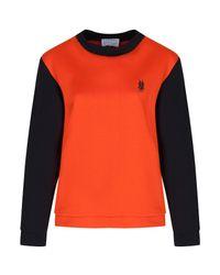 Rachel Mcmillan - Orange & Black Slouch Sweatshirt - Lyst