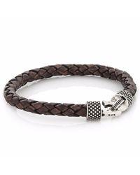 4Fellas - Classy Brown Bracelet for Men - Lyst