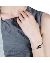 Nadia Minkoff - Multicolor Hamsa Bracelet Gunmetal - Lyst