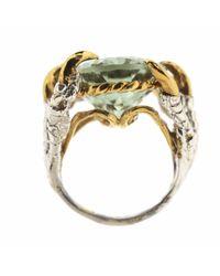 Tessa Metcalfe - Metallic Green Quartz Deborah Ring - Lyst
