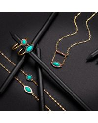 Elham and Issa Jewellery - Multicolor Awe Eye Diamond Ring - Lyst
