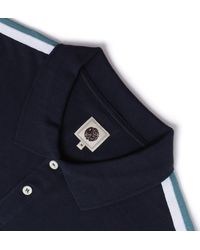 Pretty Green - Blue Tilby Moon Navy Polo Shirt for Men - Lyst