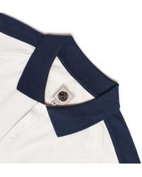 Pretty Green - Blue Stone Contrast Pique Polo Shirt for Men - Lyst