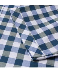 Fred Perry - Blue Ivy Bold Gingham Cotton Short Sleeve Shirt for Men - Lyst