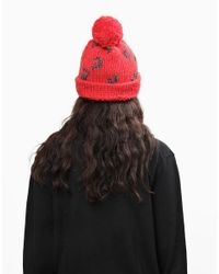 Wool And The Gang | Red Freak Out Beanie | Lyst