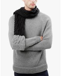 Wool And The Gang | Black Nobody's Wool Scarf for Men | Lyst