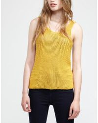 Wool And The Gang | Yellow Tala Tank Top | Lyst