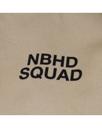 Neighborhood - Natural Nbhd Squad Jacket for Men - Lyst