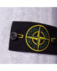 Stone Island - Purple Reversible Cotton Gauze Sweater for Men - Lyst