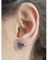 Melissa Joy Manning - Multicolor Pearl And Burmese Mismatch Stud Earrings - Lyst