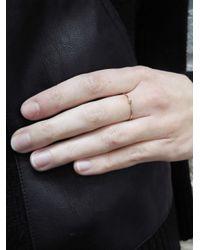 Jennifer Meyer - Multicolor Thin Pink Sapphire Ring - Lyst