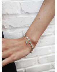 Jennifer Meyer - Multicolor Turquoise Mini Disc Bracelet - Lyst