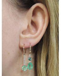 Irene Neuwirth - Multicolor One-of-a-kind Colombian Emerald Diamond Single Earring - Lyst