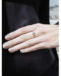 Jennifer Meyer - Multicolor Mini Four-leaf Clover Ring - Lyst