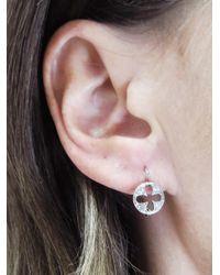 Cathy Waterman - Multicolor Four Petal Cut Out Earrings - Lyst