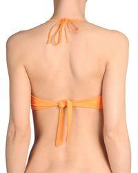 Fisico - Orange Bikini Tops - Lyst