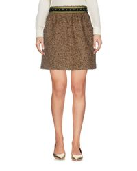 RED Valentino - Multicolor Mini Skirt - Lyst