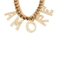 Dolce & Gabbana - Metallic Necklace - Lyst