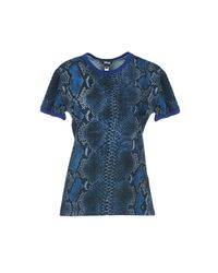 Just Cavalli - Blue Undershirts - Lyst